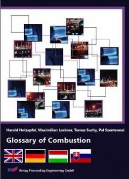 Glossary Of Combustion (english, German, Hungarian, Slovak Edition)