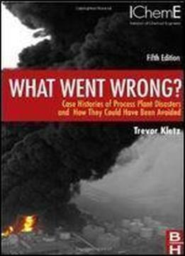 What Went Wrong?, Fifth Edition: Case Histories Of Process Plant Disasters And How They Could Have Been Avoided (butterworth-heinemann/icheme)