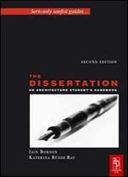 Dissertation books pdf