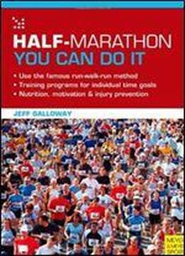 Half-marathon - You Can Do It