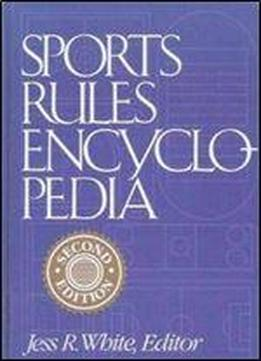 Sports Rules Encyclopedia