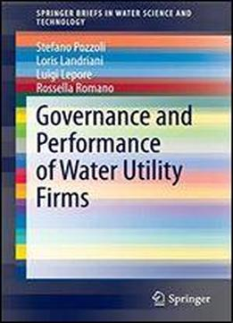 Governance And Performance Of Water Utility Firms (springerbriefs In Water Science And Technology)