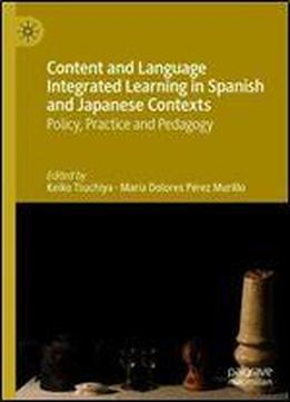 Content And Language Integrated Learning In Spanish …