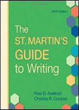 The St. Martin's Guide To Writing, 9th Edition