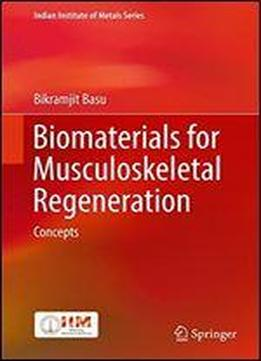 Biomaterials For Musculoskeletal Regeneration: Concepts