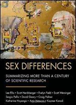Sourcebook Of Sex Differences