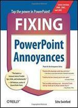 Fixing Powerpoint Annoyances: How To Fix The …