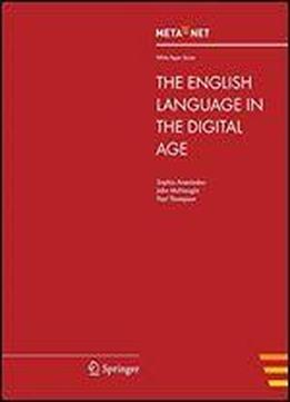 The English Language In The Digital Age (white Paper Series)