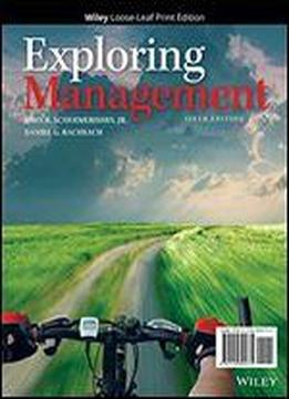 Exploring Management: With Leadership Cases