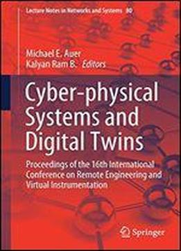 Cyber-physical Systems And Digital Twins: Proceedings Of …