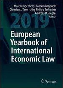 European Yearbook Of International Economic Law 2019
