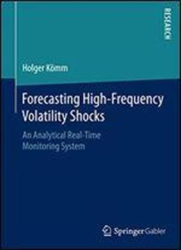 Forecasting High-frequency Volatility Shocks: An Analytical Real-time Monitoring System