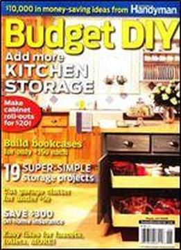 Budget Diy: Add More Kitchen Storage