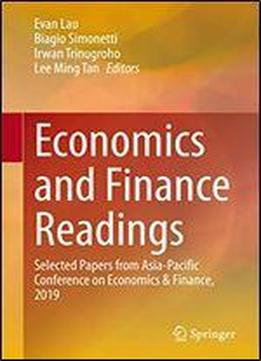 Economics And Finance Readings: Selected Papers From Asia-pacific Conference On Economics & Finance, 2019