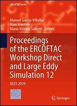 Proceedings Of The Ercoftac Workshop Direct And Large Eddy Simulation 12: Dles 2019