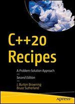 C++20 Recipes: A Problem-solution Approach