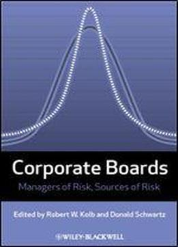 Corporate Boards: Managers Of Risk, Sources Of Risk