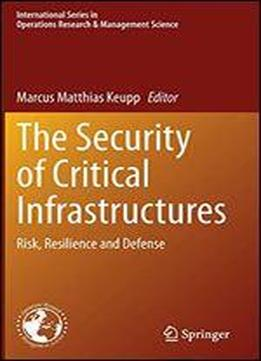 The Security Of Critical Infrastructures: Risk, Resilience And Defense