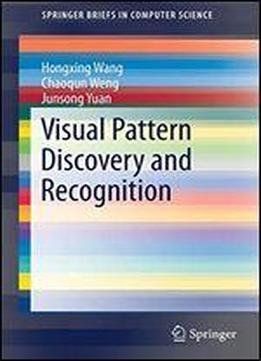 Visual Pattern Discovery And Recognition (springerbriefs In Computer Science)