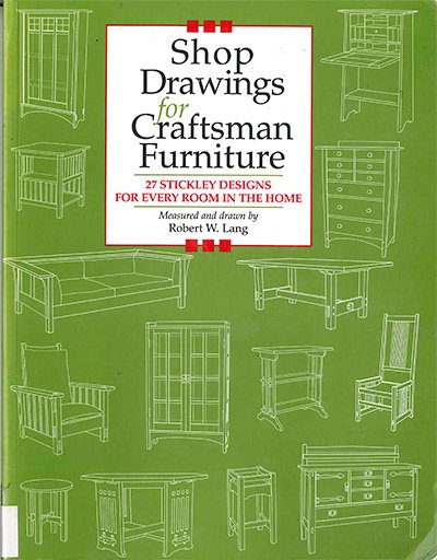 Shop Drawings for Craftsman Furniture