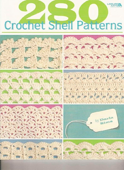 Darla Sims, 280 Crochet Shell Patterns