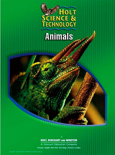 Animals, Grades 6-8 Course B: Holt Science & Technology Short Course