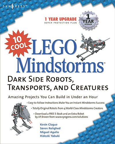 Kevin Clague, 10 Cool LEGO Mindstorms