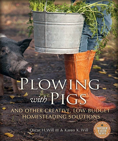 Plowing with Pigs and Other Creative, Low-Budget Homesteading Solution