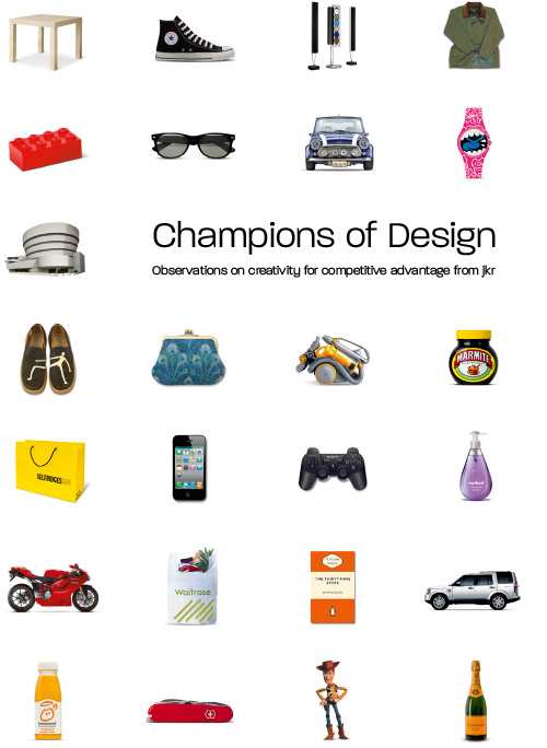 Champions of Design 1: Observations on Creativity for Competitive Advantage