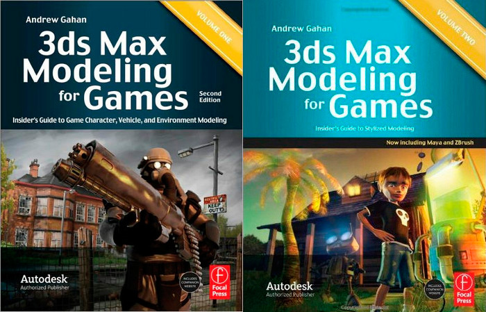 3ds Max Modeling for Games, 2nd Edition: Volume I and Volume II