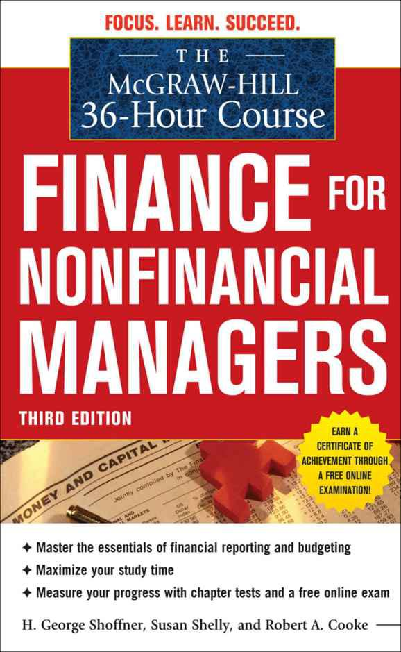 The 36-Hour Course: Finance for Non-Financial Managers Third Edition