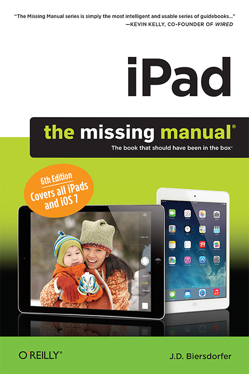 iPad: The Missing Manual, Sixth Edition