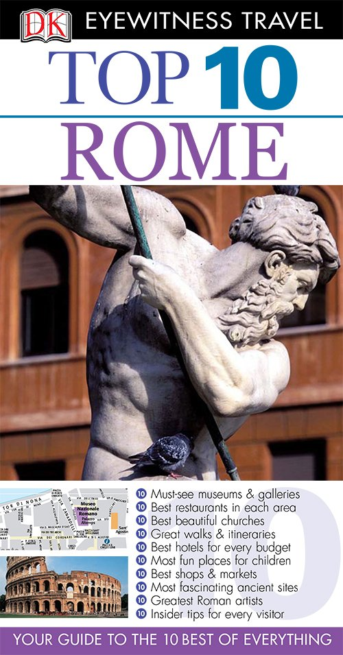 Rome (DK Eyewitness Top 10 Travel Guides)