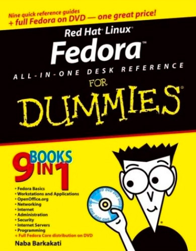 Red Hat Linux Fedora All-in-One Desk Reference For Dummies