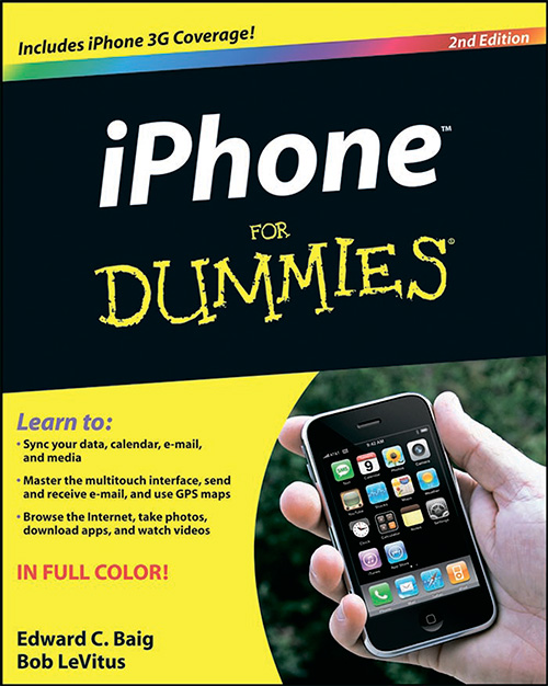 iPhone For Dummies (2nd edition)