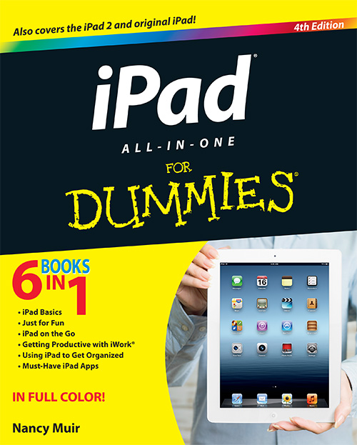 iPad All-in-One For Dummies (4th Edition)