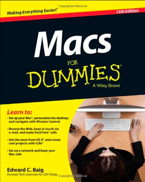 Macs For Dummies, 13th Edition