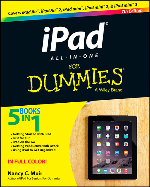 iPad All-in-One For Dummies, 7 edition