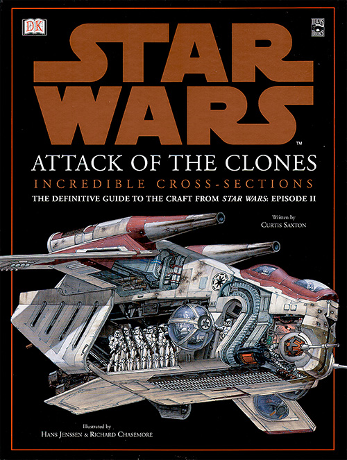 Star Wars: Attack of the Clones - Incredible Cross-Sections