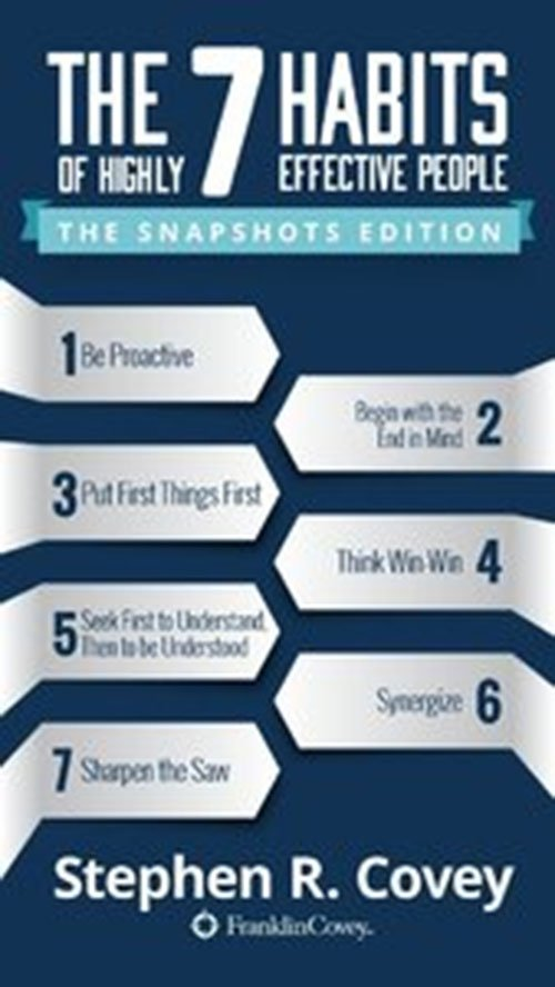 The 7 Habits of Highly Effective People: New Snapshots Edition