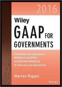 Wiley Gaap For Governments 2016